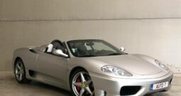 Ferrari 360 Modena Spider Cabriolet 3.6i V8 *34.000km!*